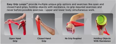 TheraBand CLX Easy Grip Loops