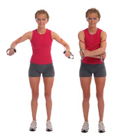 Thera-Band Tubing Shoulder Dynamic Hug