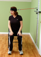 Wall Station Cervical Rotation