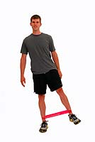Thera-Band Loop Hip Abduction in Standing