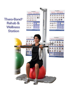 Thera-Band Rehab & Wellness Station