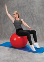 Thera-Band Pro Series Exercise Ball Seated Obliques