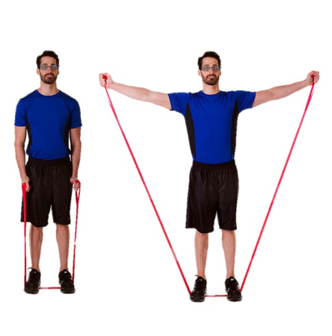 TheraBand CLX Shoulder Abduction (Bilateral)