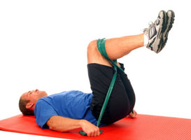 Thera-Band Abdominal Crunch