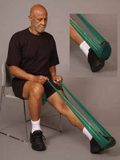 Thera-Band Ankle Plantarflexion