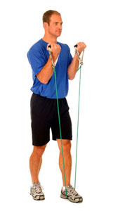 Thera-Band Biceps Curl