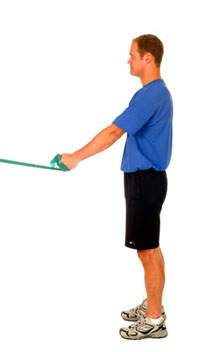 Thera-Band Shoulder Extension (Start at 45)