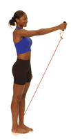 Thera-Band Shoulder Flexion