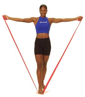 Thera-Band Shoulder Lateral Raise (Bilateral)