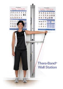 Thera-Band Wall Station