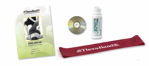 Thera-Band Knee & Hip Rehab Kit