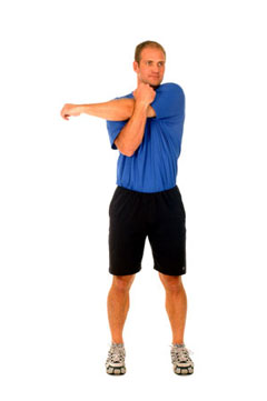 Shoulder Cross-Arm Stretch