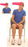 Thera-Band Cervical Sidebending (Dynamic) in Sitting